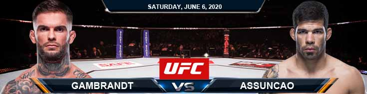 UFC 250 Garbrandt vs Assuncao 06-06-2020 UFC Odds Spread and Fight Analysis