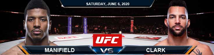 UFC 250 Menifield vs Clark 06-06-2020 UFC Forecasts Betting Tips and Fight Analysis