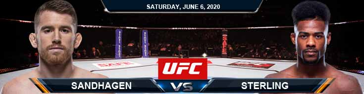 UFC 250 Sandhagen vs Sterling 06-06-2020 UFC Odds Betting Picks and Predictions