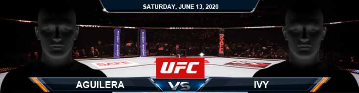UFC on ESPN 10 Aguilera vs Ivy 06-13-2020 UFC Previews Betting Predictions and Forecasts