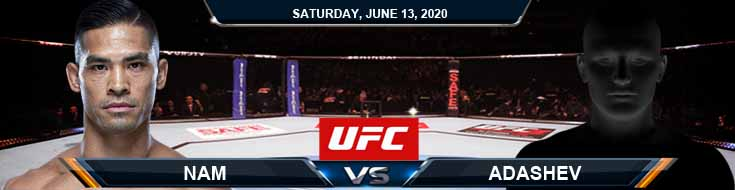 UFC on ESPN 10 Nam vs Adashev 06-13-2020 UFC Picks Odds and Betting Tips