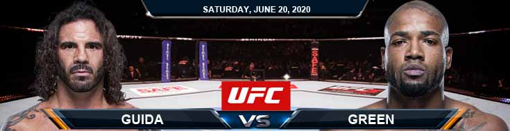 UFC on ESPN 11 Guida vs Green 06-20-2020 UFC Fight Analysis Previews and Betting Odds