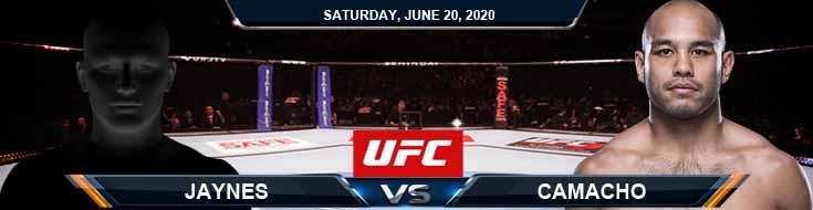 UFC on ESPN 11 Jaynes vs Camacho 06-20-2020 UFC Tips Predictions and Analysis