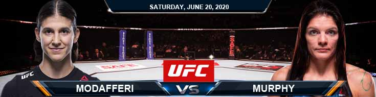 UFC on ESPN 11 Modafferi vs Murphy 06-20-2020 UFC Odds Picks and Betting Predictions
