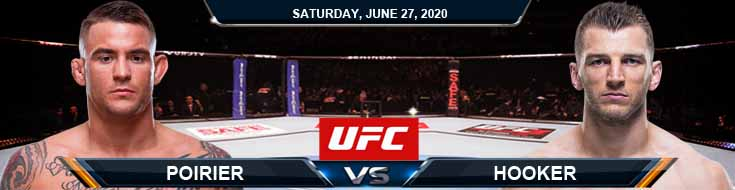 UFC on ESPN 12 Poirier vs Hooker 06-27-2020 UFC Odds Picks and Betting Predictions
