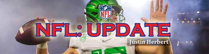 NFL Football Lines Up Justin Herbert As Interesting Quarterback Prospect