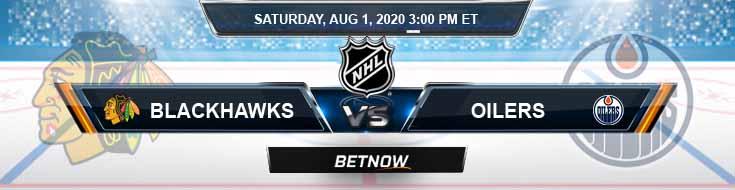 Chicago Blackhawks vs Edmonton Oilers 08-01-2020 Betting Picks NHL Spread and Game Analysis