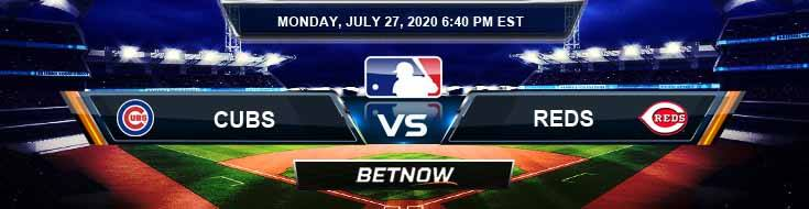 Chicago Cubs vs Cincinnati Reds 07-27-2020 MLB Analysis Results and Betting Odds