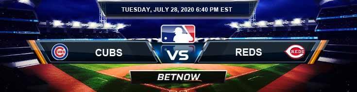 Chicago Cubs vs Cincinnati Reds 07-28-2020 Baseball Picks Predictions and Betting Previews