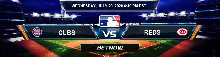 Chicago Cubs vs Cincinnati Reds 07-29-2020 MLB Previews Spread and Game Analysis