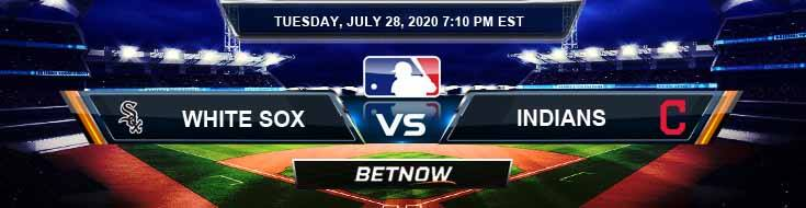 Chicago White Sox vs Cleveland Indians 07-28-2020 MLB Baseball Predictions and Game Analysis