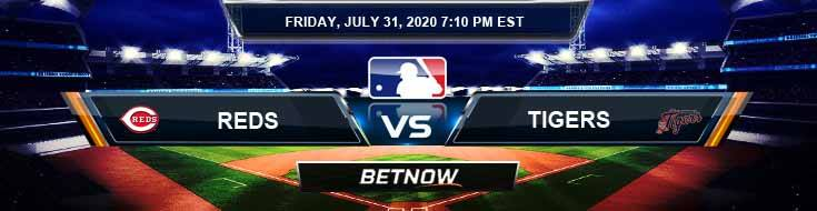 Cincinnati Reds vs Detroit Tigers 07-31-2020 MLB Predictions Previews and Baseball Spread