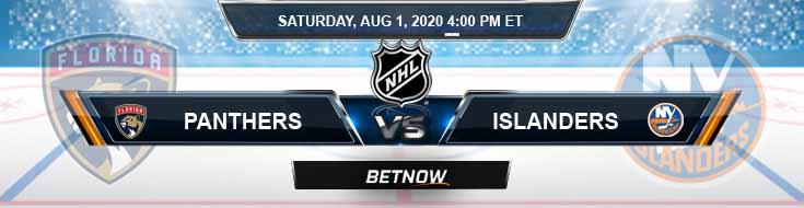 Florida Panthers vs New York Islanders 08-01-2020 NHL Picks Odds and Hockey Previews