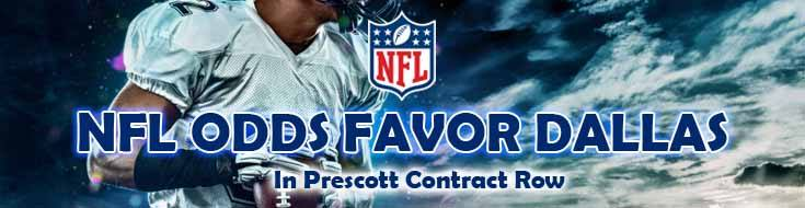Former Cowboys Receiver Sees NFL Odds Favor Dallas In Prescott Contract Row