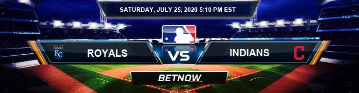 Kansas City Royals vs Cleveland Indians 07-25-2020 MLB Spread Game Analysis and Tips