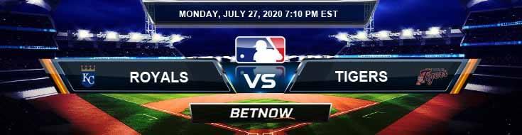 Kansas City Royals vs Detroit Tigers 07-27-2020 Baseball Analysis MLB Forecast and Odds