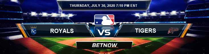 Kansas City Royals vs Detroit Tigers 07-30-2020 MLB Tips Baseball Betting and Forecast
