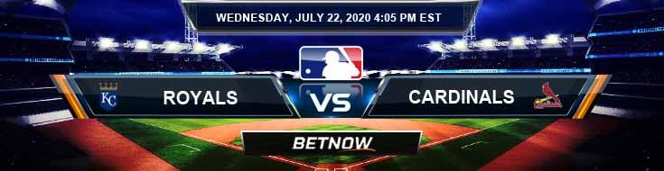 Kansas City Royals vs Saint Louis Cardinals 07-22-2020 MLB Picks Baseball Predictions and Betting Previews