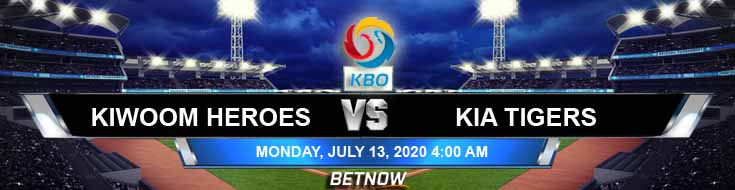 Kiwoom Heroes vs KIA Tigers 07-13-2020 KBO Tips, Baseball Betting and Game Analysis