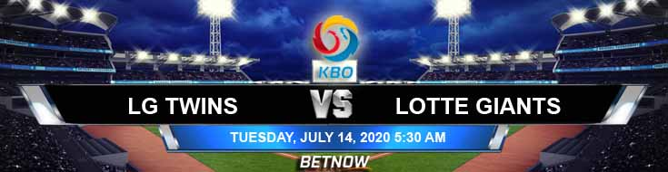 LG Twins vs Lotte Giants 07-14-2020 KBO Tips Game Analysis and Betting Forecast