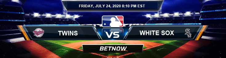 Minnesota Twins vs Chicago White Sox 07-24-2020 MLB Predictions Betting Odds and Baseball Analysis