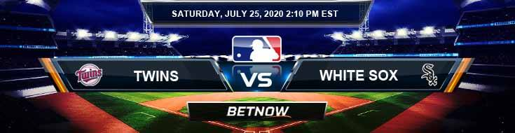 Minnesota Twins vs Chicago White Sox 07-25-2020 MLB Previews Spread and Game Analysis