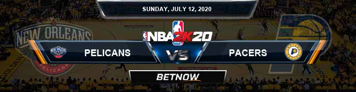 NBA 2k20 Sim New Orleans Pelicans vs Indiana Pacers 7-12-2020 NBA Odds and Picks