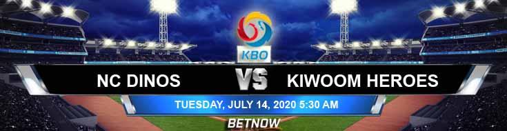 NC Dinos vs Kiwoom Heroes 07-14-2020 KBO Predictions Odds and Betting Previews