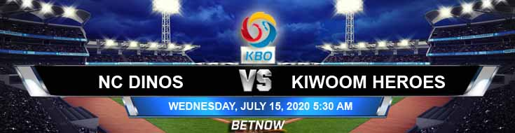 NC Dinos vs Kiwoom Heroes 07-15-2020 KBO Picks Betting Spread and Baseball Odds