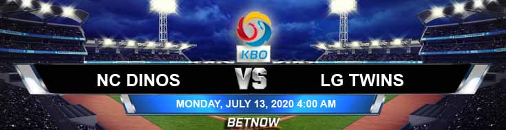 NC Dinos vs LG Twins 07-13-2020 KBO Odds, Picks and Betting Predictions