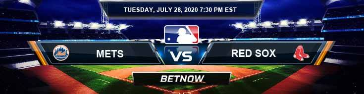 New York Mets vs Boston Red Sox 07-28-2020 Game Analysis MLB Tips and Forecast