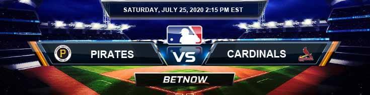 Pittsburgh Pirates vs Saint Louis Cardinals 07-25-2020 Baseball Tips Forecast Betting Analysis