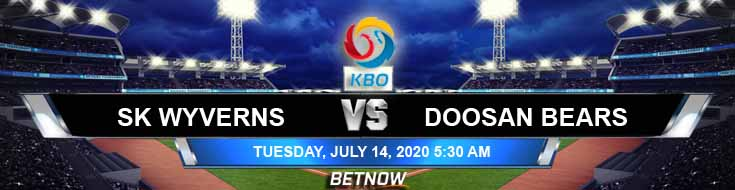 SK Wyverns vs Doosan Bears 07-14-2020 KBO Forecast Analysis and Betting Results