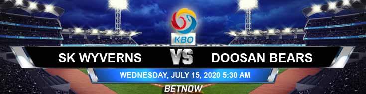 SK Wyverns vs Doosan Bears 07/15/2020 KBO Tips, Baseball Odds and Betting Picks