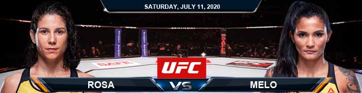 UFC 251 Rosa vs Melo 07-11-2020 UFC Fight Analysis Forecasts and Betting Tips