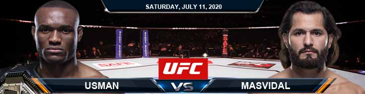 UFC 251 Usman vs Masvidal 07-11-2020 UFC Picks Predictions and Betting Previews