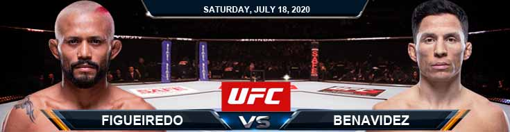 UFC Fight Night 172 Figueiredo vs Benavidez 07-18-2020 Odds Picks and Betting Predictions