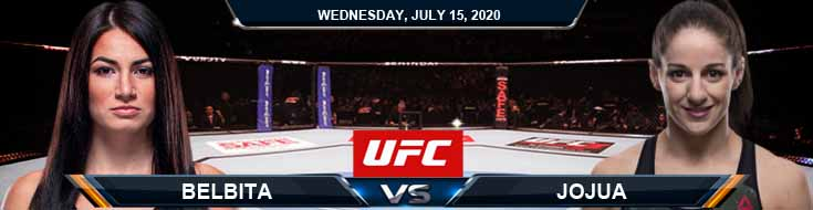 UFC on ESPN 13 Belbita vs Jojua 07-15-2020 Tips Previews and Picks