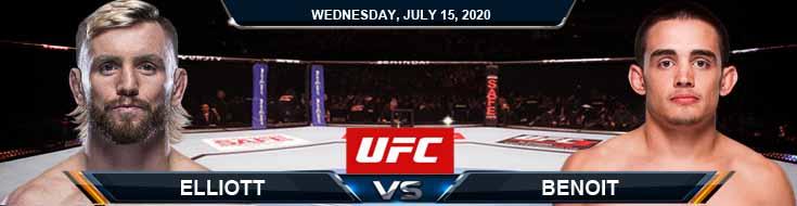 UFC on ESPN 13 Elliott vs Benoit