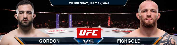 UFC on ESPN 13 Gordon vs Fishgold 07-15-2020 Fight Analysis Previews and Results