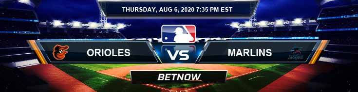 Baltimore Orioles vs Miami Marlins 08-06-2020 MLB Forecast Results and Baseball Odds