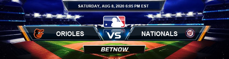 Baltimore Orioles vs Washington Nationals 08-08-2020 Game Analysis MLB Tips and Forecast