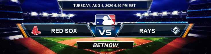 Boston Red Sox vs Tampa Bay Rays 08-04-2020 MLB Previews Spread and Game Analysis