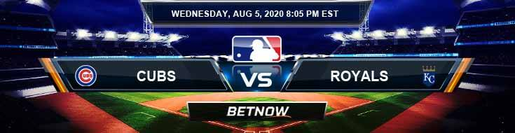Chicago Cubs vs Kansas City Royals 08-05-2020 MLB Odds Predictions and Betting Spread