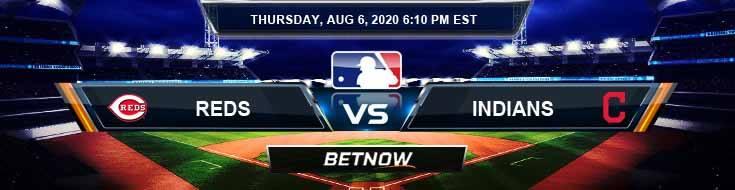 Cincinnati Reds vs Cleveland Indians 08-06-2020 MLB Predictions Picks and Baseball Odds