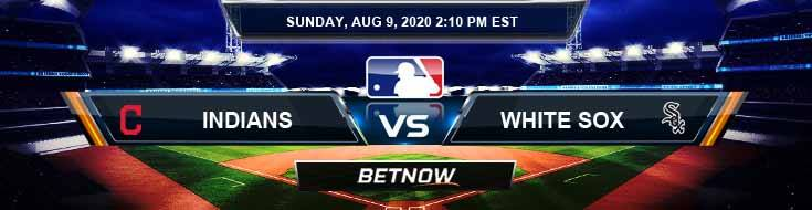 Cleveland Indians vs Chicago White Sox 08-09-2020 MLB Predictions Previews and Betting Spread