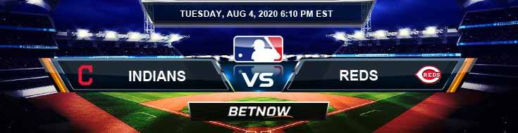 Cleveland Indians vs Cincinnati Reds 08-04-2020 MLB Results Analysis and Baseball Forecast