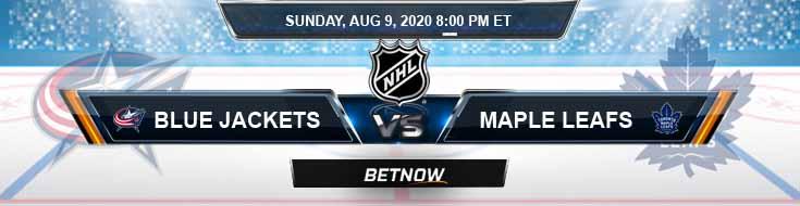 Columbus Blue Jackets vs Toronto Maple Leafs 08-09-2020 NHL Predictions Odds & Picks