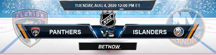 Florida Panthers vs New York Islanders 08/04/2020 NHL Odds, Picks and Betting Predictions