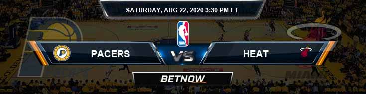 Indiana Pacers vs Miami Heat 8-22-2020 Spread Picks and Game Analysis